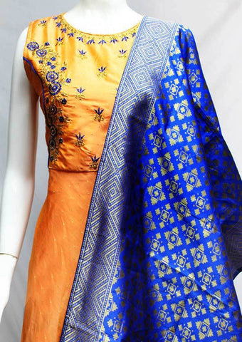 Light Orange Readymade Salwar-FR118426 ARRS Silks