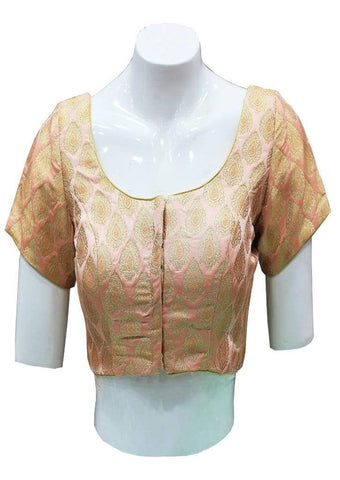 Light Pink shade Readymade Blouse-FF25299 ARRS Silks