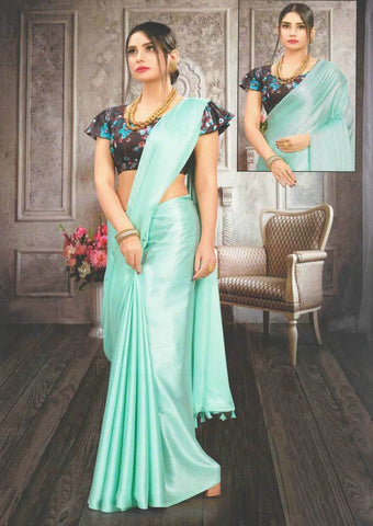 Light Sky blue Fancy Saree-FS32466 ARRS Silks