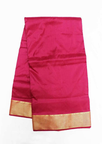 Magenta 9.5 Yards Silk Saree - FS29183 ARRS Silks
