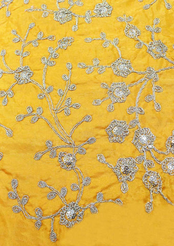 Mango Orange Blouse Fabric FB9277 ARRS Silks