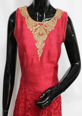 Maroon Color Frock- FM20179 ARRS Silks