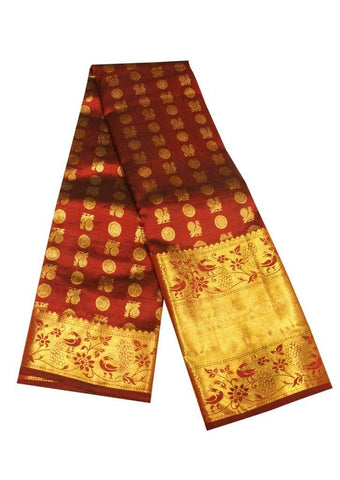 Maroon  Kanchipuram Silk Saree - EZ11306 ARRS Silks