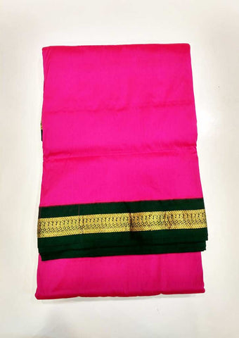 Light Pink 9.5 Yards Semi Silk Saree - FL6715