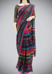 Multi color Bhagalpuri Cotton ARRS Silks