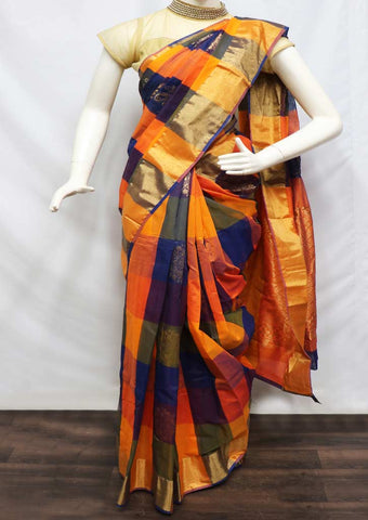 Multi Color Cotton Sarees- GA29401 ARRS Silks