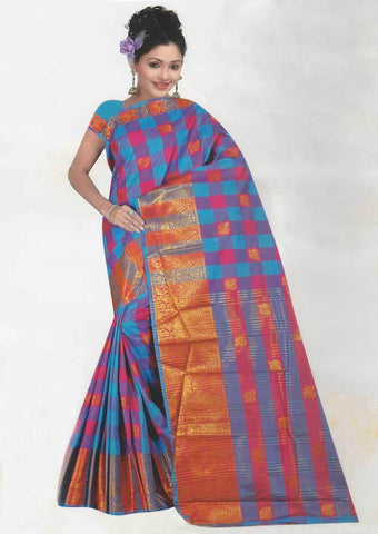 Multi Color Fancy saree -FQ37893 ARRS Silks