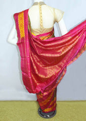 Multi Color  Kanchipuram Silk Saree-FD6129 ARRS Silks