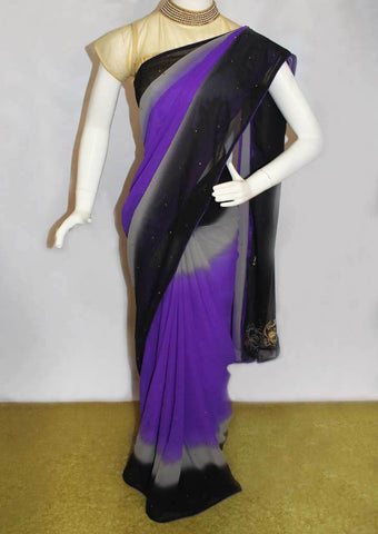 Multi Color Sana Silk Saree-FO45071 ARRS Silks