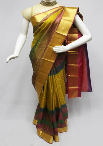 Multi color Semi Silk Saree- FQ115779 ARRS Silks