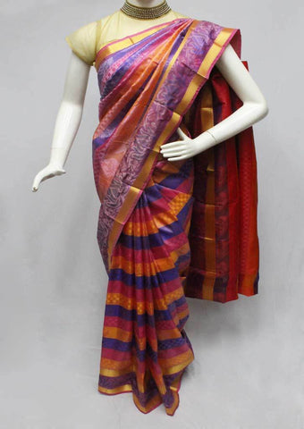 Multi color Semi Silk Saree- FQ115780 ARRS Silks