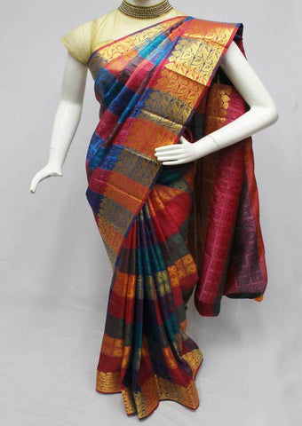Multi color Semi Silk Saree- FQ115781 ARRS Silks