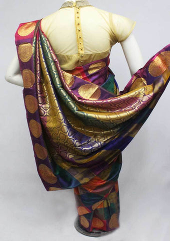 Multi color Semi Silk Saree- FQ115783 ARRS Silks