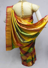 Multi Color Semi Silk Saree- FQ115784 ARRS Silks