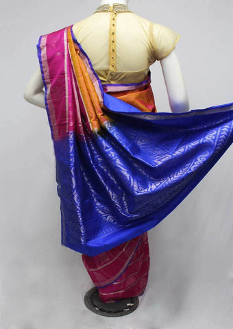 Multi Color Soft Silk Saree -FQ38457 ARRS Silks