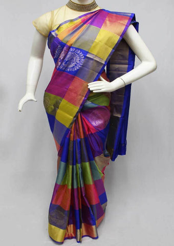 Multi Color Soft Silk Saree -FQ38982 ARRS Silks