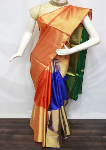 Multi Color Soft Silk Saree - FQ38991 ARRS Silks