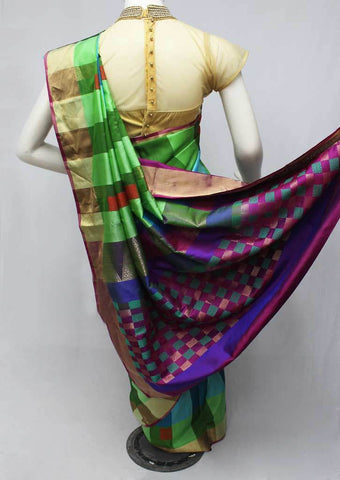 Multi Color Soft Silk Saree -FQ41915 ARRS Silks