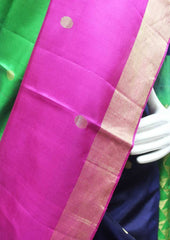Multi Color with Green Soft Silk Saree - FP56252 ARRS Silks