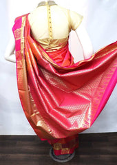 Mustard and Pink Shade Semi Silk Saree - FT5156 ARRS Silks
