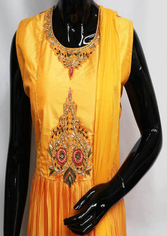 Orange Color Readymade Salwar- FR116212 ARRS Silks
