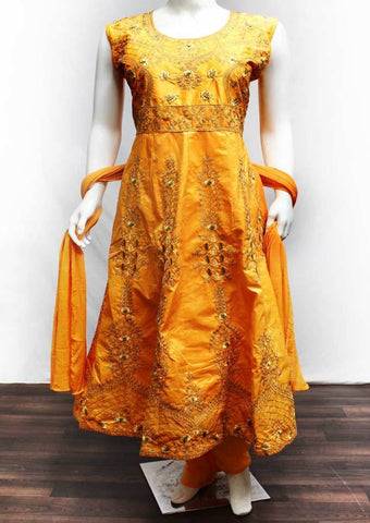 Orange Color Readymade Salwar-FR32654 ARRS Silks