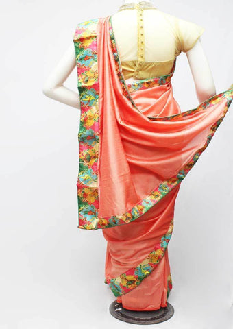 Orange Color Synthetic Saree-FR97534 ARRS Silks