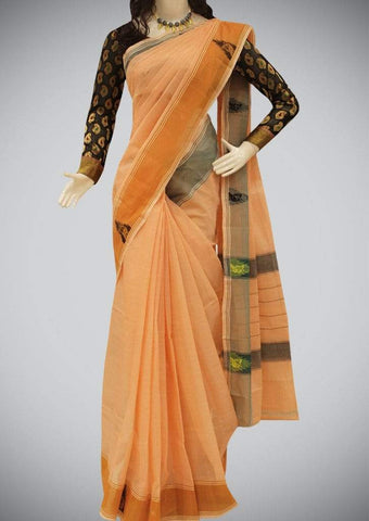 Orange Kanchi Cotton ARRS Silks
