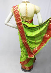 Parrot Green Color Fancy Saree-FO87825 ARRS Silks