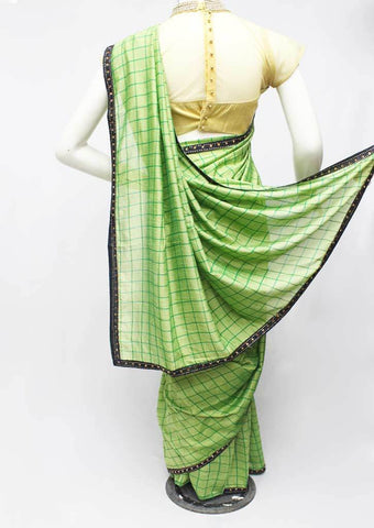 Parrot Green Synthetic Saree-FR95430 ARRS Silks
