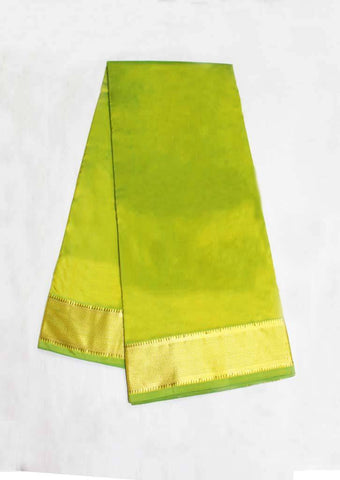 Peacock Green Color 9.5 Yards Silk Saree - FC5090 ARRS Silks