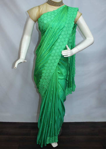 Peacock Green Designer Saree-FP31019 ARRS Silks Salem