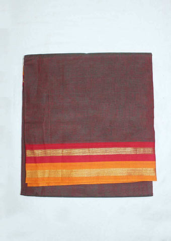 Pink and Green Shade Pure Cotton 9.5 yards Saree - FP54212 ARRS Silks