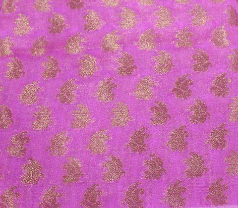 Pink Blouse Fabric EK7360 ARRS Silks