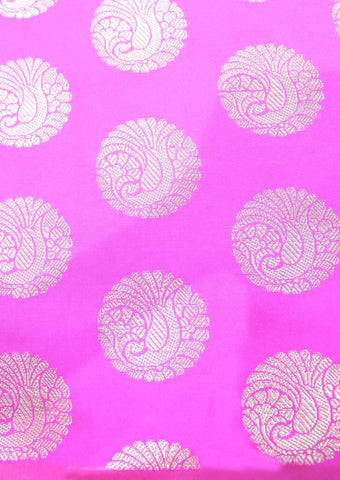 Pink Color Blouse Fabric FR26905 ARRS Silks