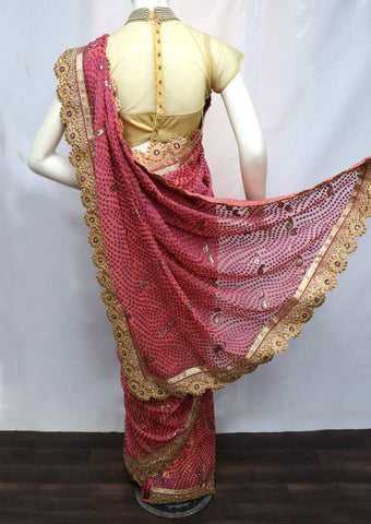 Pink Color Designer Saree - FA21534 ARRS Silks