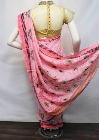 Pink Color Linen Saree - FV32219 ARRS Silks