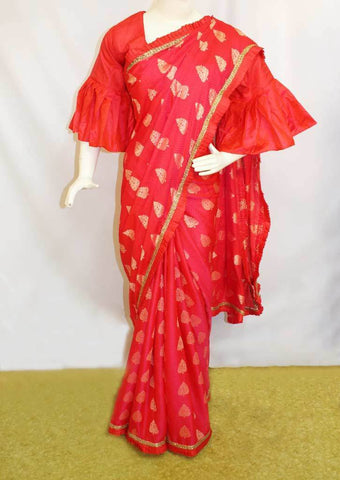Pink  Fancy Saree-FO45790 ARRS Silks