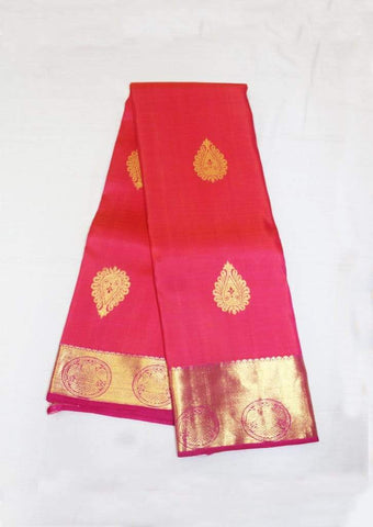 Pink Kanchipuram Silk Saree-FF17258 ARRS Silks
