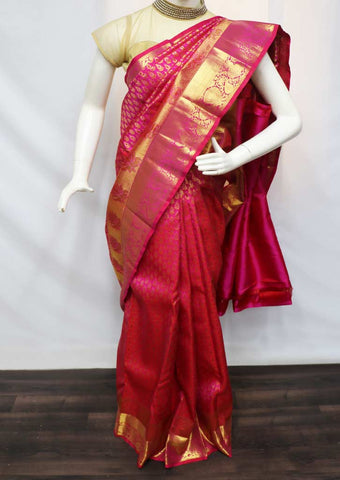 Pink Pattu Saree - EZ20696 ARRS Silks