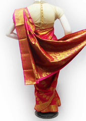 Pink Semi Silk Saree- FJ28164 ARRS Silks