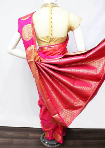 Pink Semi Silk Saree - FT5202 ARRS Silks