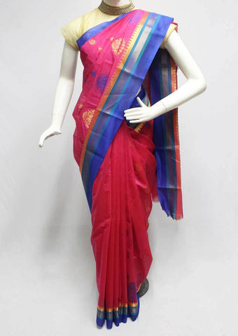 Pink Silk Cotton Saree - FR123229 ARRS Silks