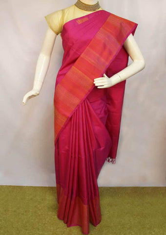 Pink Soft Silk Saree -FL85879 ARRS Silks