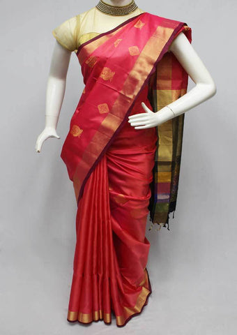 Pink Soft Silk Saree -FL87164 ARRS Silks