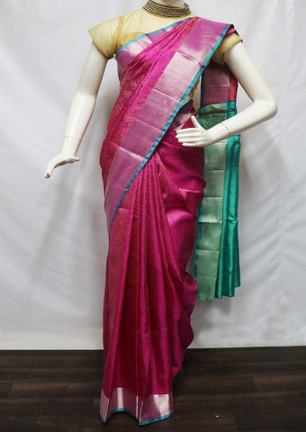 Pink Soft Silk Saree - FU45355 ARRS Silks
