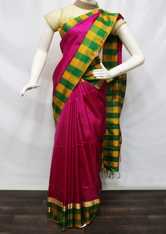 Pink Soft Silk Saree - FV26519 ARRS Silks