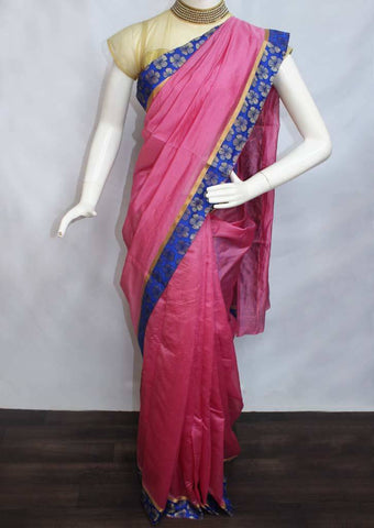 Pink Varanasi Cotton Saree - FP2666 ARRS Silks