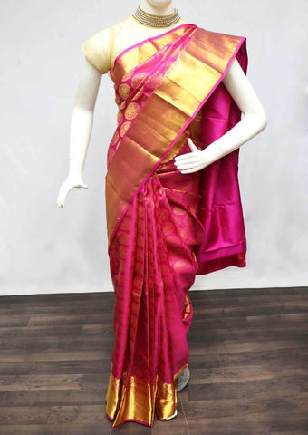 Pink Wedding Silk Saree - EU2178 ARRS Silks
