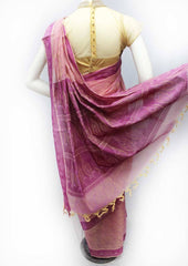 Pink with violet Color Nagamam Cotton Saree - FR25871 ARRS Silks